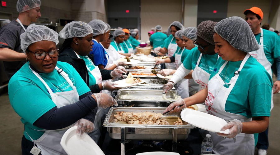 Prepare for Thanksgiving; Give Time and Resources Locally