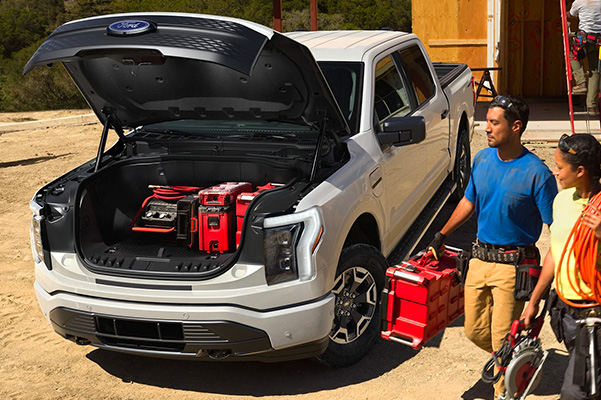 New Ford Lightning Electric Truck